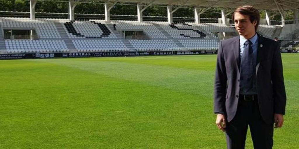 El presidente del Burgos CF pide al Gobierno y a la RFEF una solución para el fútbol de Segunda B