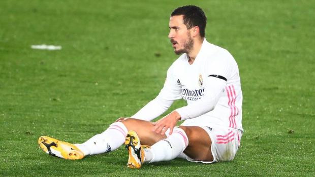 Hazard, nueva lesión en el muslo derecho