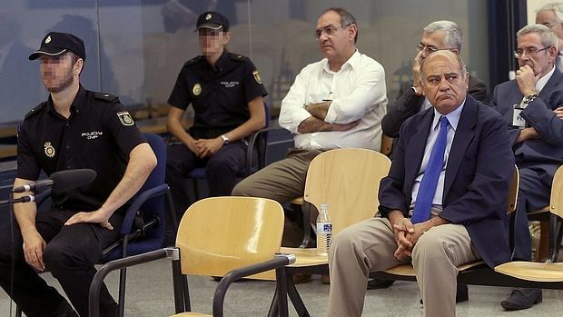 El expresidente de la CEOE, Gerardo Díaz Ferrán, en su juicio en la Audiencia Nacional