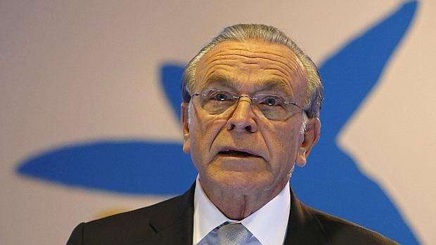 El presidente de Caixabank, Isidro Fainé