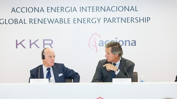 Henry Kravis y José Manuel Entrecanales