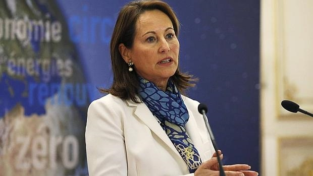 La ministra francesa de Ecología, Ségolène Royal