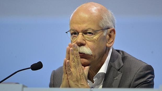 El presidente de Daimler, Dieter Zetsche