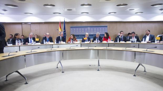 Representantes de las comunidades en el último Consejo de Política Fiscal y Económica