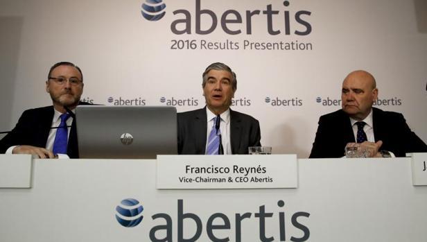 Presentación de los resultados trimestrales de Abertis