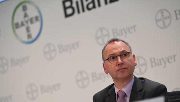 El CEO de Bayer, Werner Baumann
