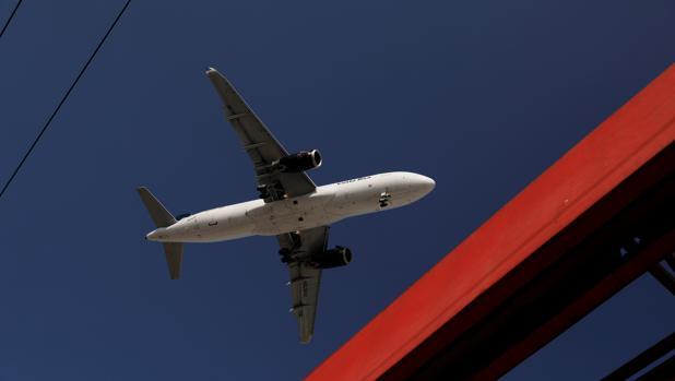 Fotografía de archivo de un avión de Airbus