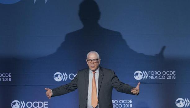 El secretario general de la OCDE, José Ángel Gurría