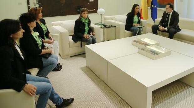 Rajoy recibió este mes en La Moncloa a representantes de este colectivo