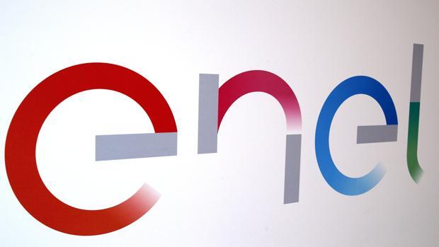 El logotipo de la empresa italiana Enel