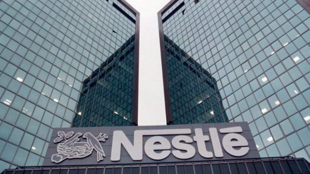 Fachada de la sede central de Nestlé en Suiza