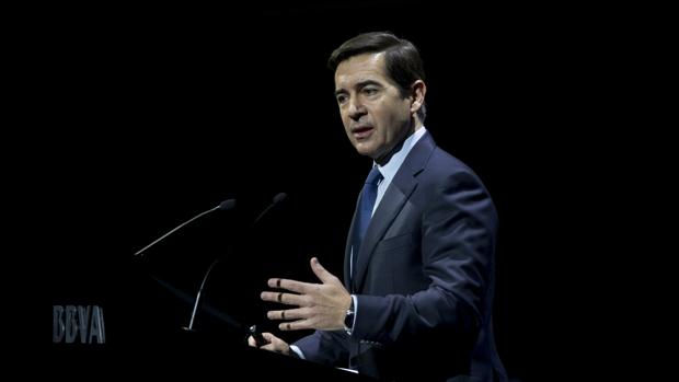 El presidente de BBVA, Carlos Torres