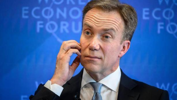 El presidente del Foro Económico Mundial (FEM), Borge Brende