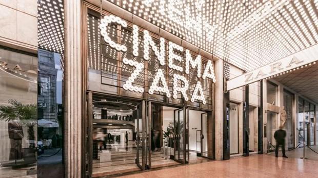 Cinema Zara en Milán