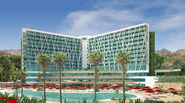 Así quedará el histórico Hotel Don Miguel de Marbella, que se convertirá desde marzo en el resort «ClubMed Marbella»