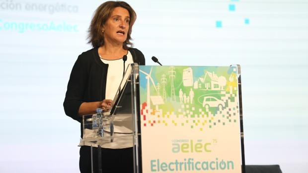 Teresa Ribera, ministra para la Transición Energética, hoy