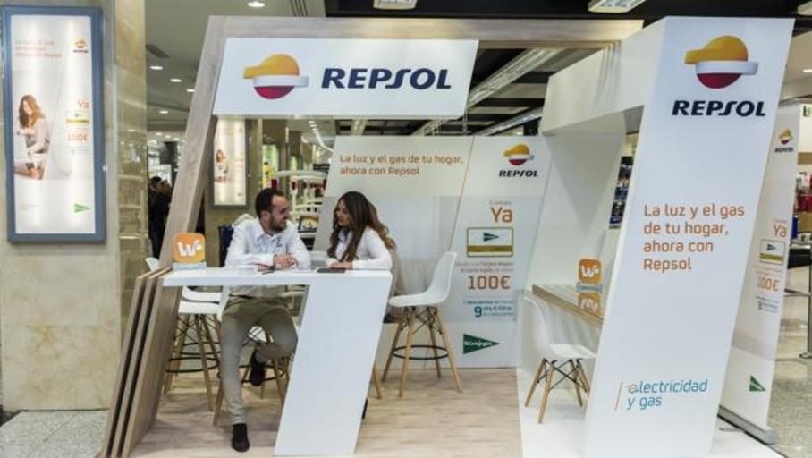 Repsol contará con 22 puntos de contratación más en centros comerciales de El Corte Inglés