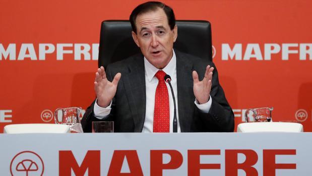 El presidente de Mapfre, Antonio Huertas