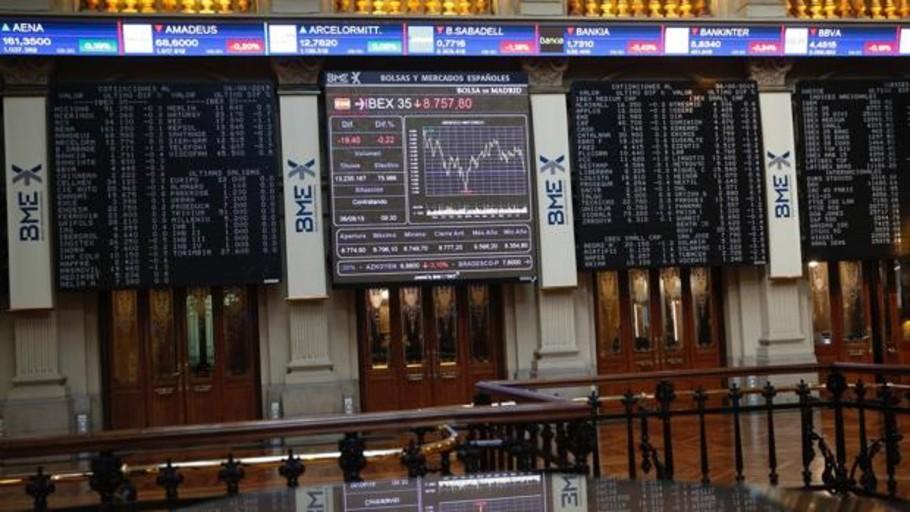 El Ibex 35 se abona al terreno de las pérdidas y abre a la baja por la incertidumbre internacional