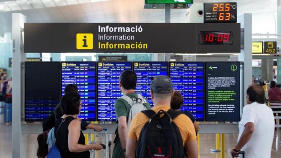 118 vuelos suspendidos por la huelga de este fin de semana del personal de tierra de Iberia en El Prat