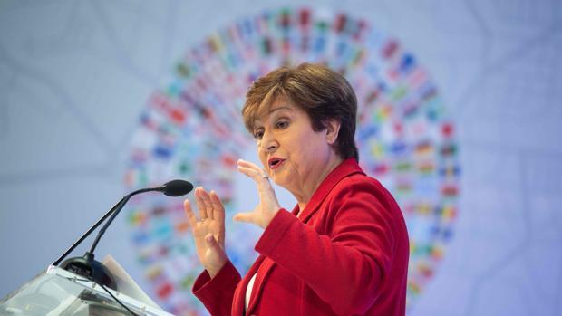 La directora del FMI, Kristalina Georgieva