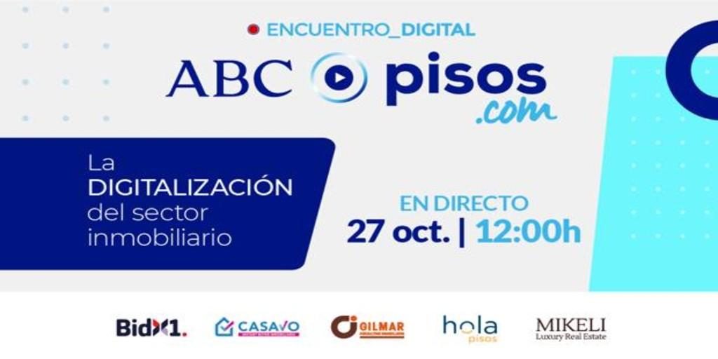 ABC y Pisos.com realizan un evento digital para analizar las claves de la transformación digital en el sector inmobiliario