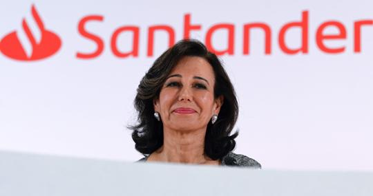 Ana Botín, president of Banco Santander