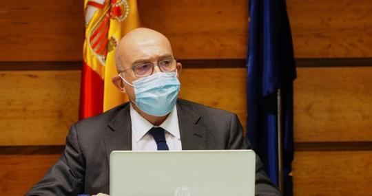 Jesús Julio Carnero, Minister of Agriculture, Livestock and Rural Development of Castilla y León