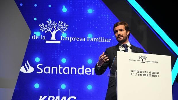 Pablo Casado propone usar 10.000 millones de fondos europeos para establecer la 'mochila austriaca'