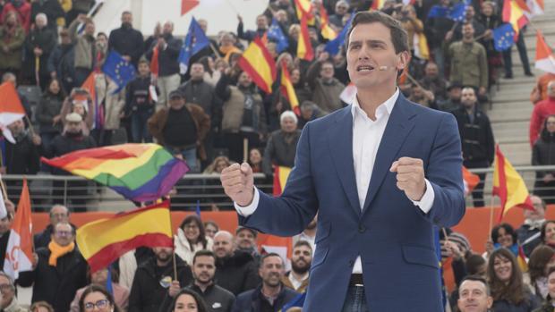 El presidente de Ciudadanos, en El Montecillo de Las Rozas (Madrid)