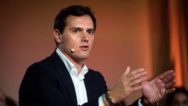 Albert Rivera, en un debate económico la semana pasada