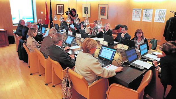 Reunión de la Junta Electoral Central