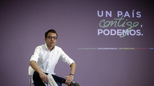 Errejón presenta el lema de Podemos