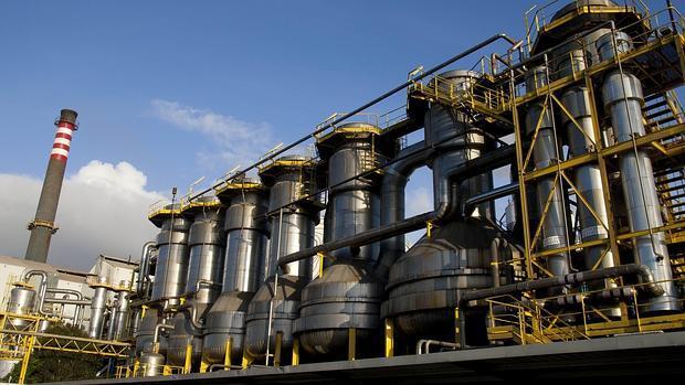 Factoría de Ence en Pontevedra