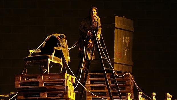 Una imagen del estreno de la obra en Colonia