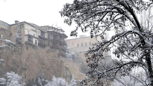 Nevada del mes de febrero en Cuenca