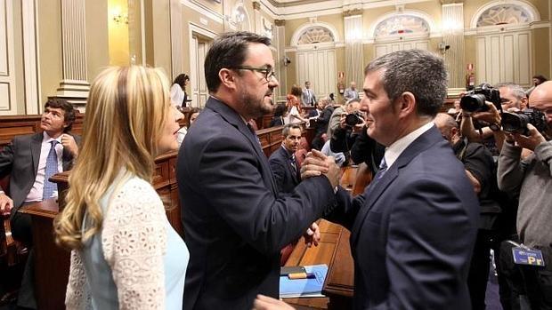 """Antona es """"evidente"""" que el hecho de que CC mantuviera a Fernando Clavijo a pesar del veto de Ciudadanos llevó a que no hubiera acuerdo."""