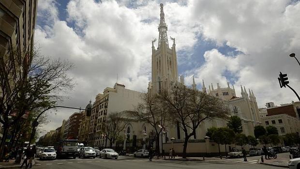 El templo en la calle Goya