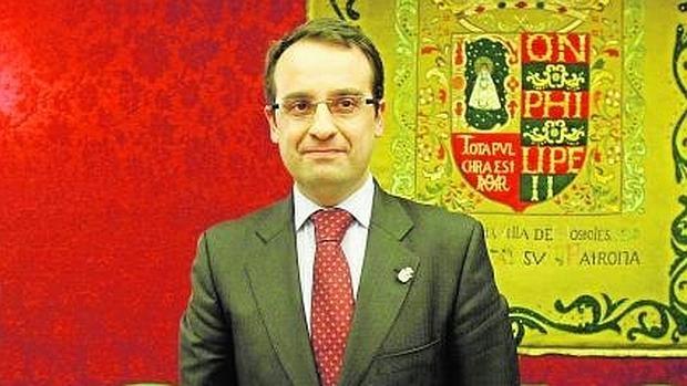El diputado del PP en la Asamblea de Madrid y exalcalde de Móstoles, David Ortiz