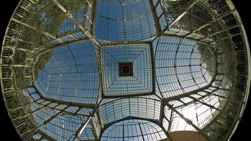 El Palacio de Cristal del estanque pequeño de El Retiro
