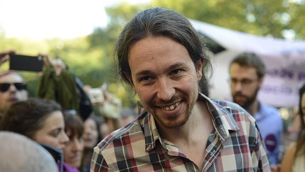 Pablo Iglesias, en una imagen de la campaña ante las elecciones del 26-J