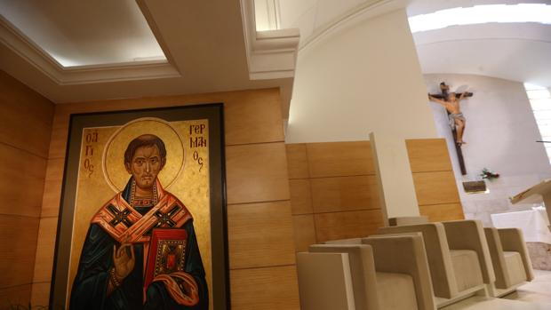 San Germán, el icono de la parroquia