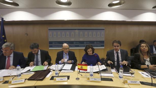 Inicio de la reunión del Consejo de Política Fiscal y Financiera