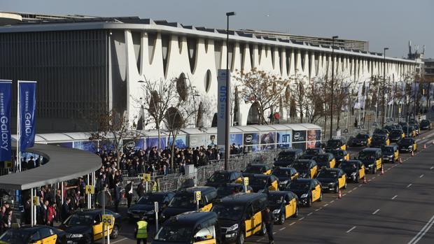 Barcelona tiene 13.000 taxis en funcionamiento