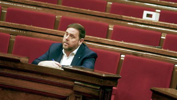 El vicepresidente de la Generalitat de Cataluña,Oriol Junqueras