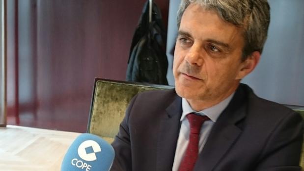 Malet, durante su entrevista en Cope-Cataluña