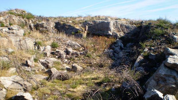 Explotación en el macizo granítico de Santiago que, junto al macizo de Padrón, suministró piedra a la ciudad para muchos de sus monumentos