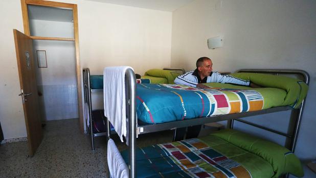 El albergue Juan XXIII es el de mayor capacidad en Santiago