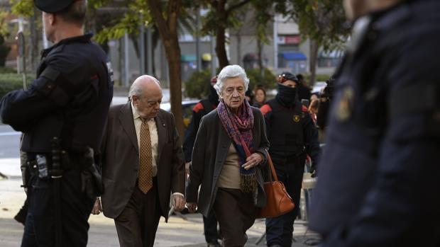 Marta Ferrusola y Jordi Pujol