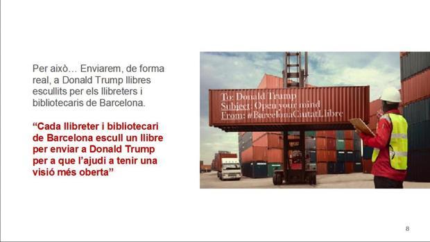 Captura de pantalla de una de las páginas de la polemica campaña
